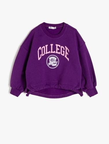 Koton Kids Sweatshirt Mor